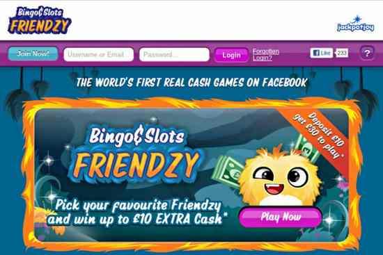 facebookBingo-Slots-Friendzy