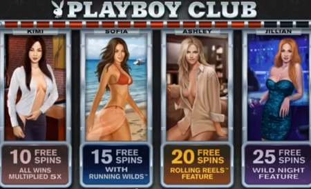 Playboy club free spins