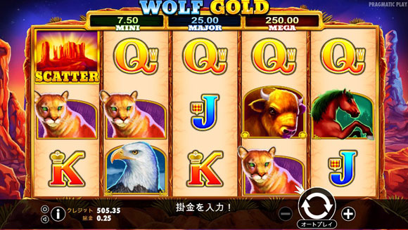 wolf goldの結果